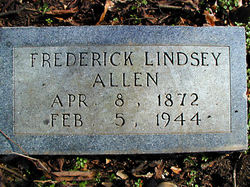 Frederick Lindsey Allen