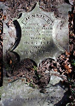 Jennie E. <i>McNeilly</i> Allen