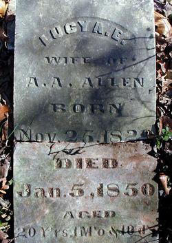 Lucy A. E. Allen
