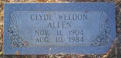 Clyde Weldon Allen