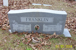 Millie Lorena <i>Williamson</i> Franklin