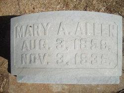 Mary <i>Holmes</i> Allen