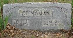 Myrtle M Clingman