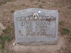 Effie Abram