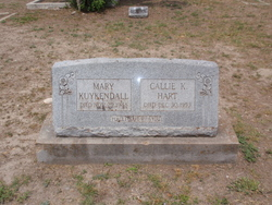 Callie K. <i>Kuykendall</i> Hart