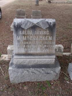 Lieut Irving M. McCracken