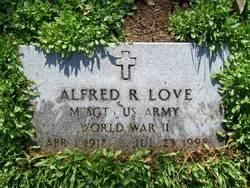 Alfred R Love