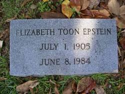 Elizabeth <i>Toon</i> Epstein