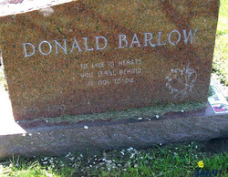 Donald Barlow