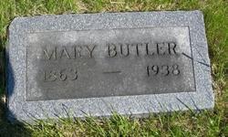 Mary <i>Mangan</i> Butler