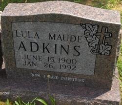 Lula Maude <i>Briles</i> Adkins