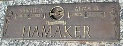 Alma G. <i>Weidendorf</i> Hamaker