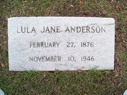 Lula Jane <i>Durant-Roberts</i> Anderson