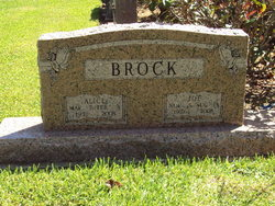 Mary Alice <i>Polk</i> Brock