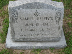 Samuel Francis Esleeck