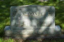 Ernestine <i>Scharf</i> Albrandt
