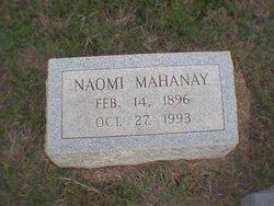 Naomi Oma <i>Prestridge</i> Mahanay