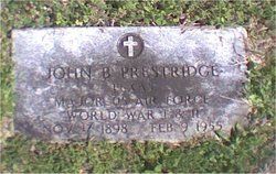 John Bunion Prestridge