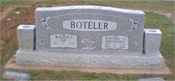 Walter Isbel RIP Boteler