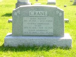 Irving W Crane