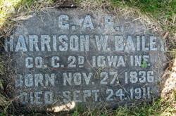 Harrison W Bailey