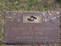 August H. Beckman