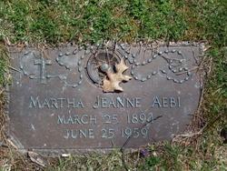 Martha Jeanne Aebi