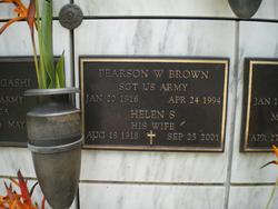 Pearson W Brown