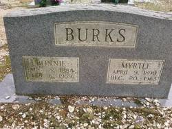 Myrtle <i>Hendrix</i> Burks