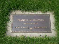 Frances Maude <i>Hughes</i> Hausken