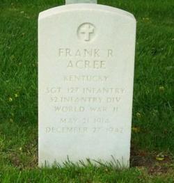 Frank R Acree