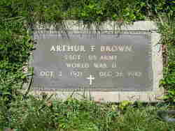 Arthur F Brown