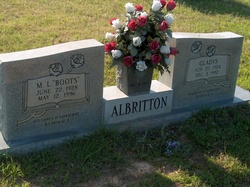 Gladys B Albritton