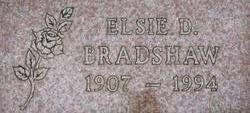 Elsie Della <i>Nichols</i> Bradshaw