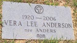 Vera <i>Lee</i> Anderson