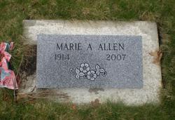 Marie Agnes <i>Triplett</i> Allen