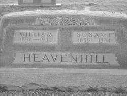 Susan Frances <i>Biggerstaff</i> Heavenhill