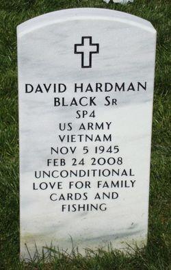 David H Black, Sr
