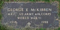 George E McKibben