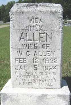 Vida Inez <i>Hogg</i> Allen