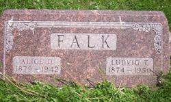 Alice D. <i>Shoberg</i> Falk