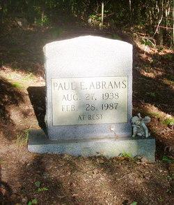 Paul E Abrams