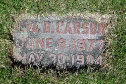 Eva B Carson