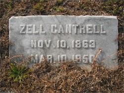 Margaret Mozelle Zell <i>Kimbrell</i> Cantrell