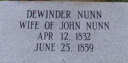 Dewinder Nunn
