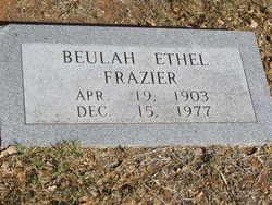 Beulah Ethel <i>Witt</i> Frazier