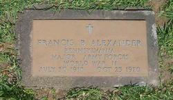 Francis Brown Alexander
