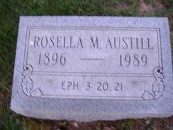 Rosella M. <i>Hill</i> Austill