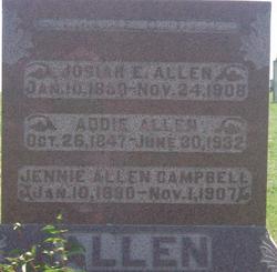 Adaline Addie <i>Hollister</i> Allen