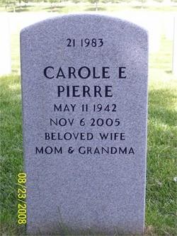 Carole Elaine <i>Fonda</i> Pierre